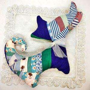Vintage Quilt Repurposed Kitty